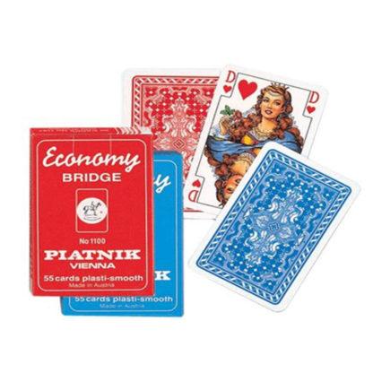 Карты игральные Экономи бридж 55 карт