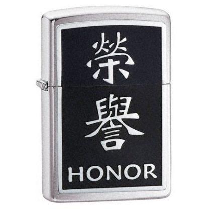Zippo  Honor - Chinese Symbol Emblem