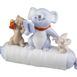 """Фигурка """"кошка с мышатами"""" высота=10 см."""