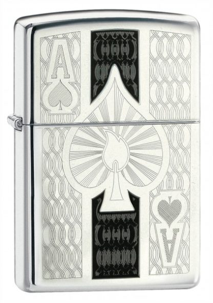 Зажигалка Zippo High Polish Chrome