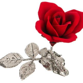 """Изделие декоративное """"""""роза"""""""" 10*10 см. высота=12 см."""