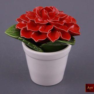 Изделие декоративное «цветок в горшке»