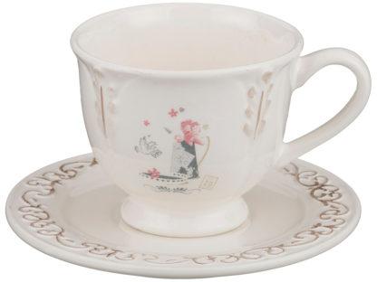 Чайный набор на 1 персону 2пр.350 мл.(кор=24наб.)