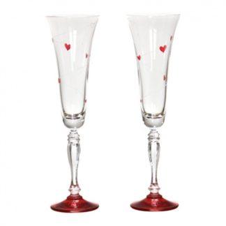 "Набор бокалов для шампанского 2 шт. ""Виктория LOVE"""