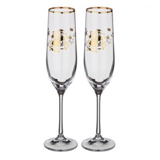 Набор бокалов для шампанского 2 шт.