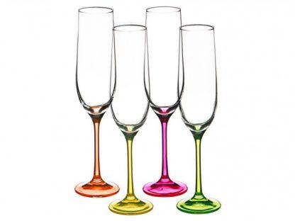 """Набор бокалов для шампанского из 4 шт. """"NEON"""""""