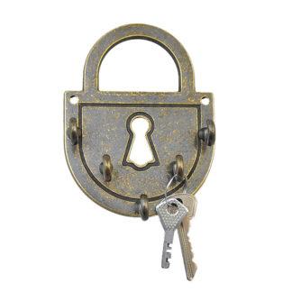 Ключница металлическая Замок амбарный