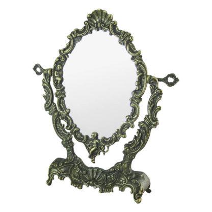"Зеркало настольное бронза ""Ракушка"""