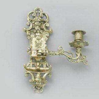 Подсвечник настенный на 1 свечу Alberti Livio