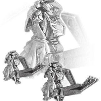 DE-10-NQ Крепление самурай, хром denix