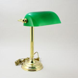 Светильник настольный Зеленая Лампа на прямой ножке SL-602