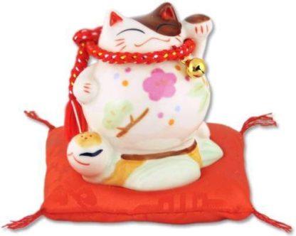 """Японский кот-копилка Манэки-нэко """"Удача и Успех в делах!"""""""