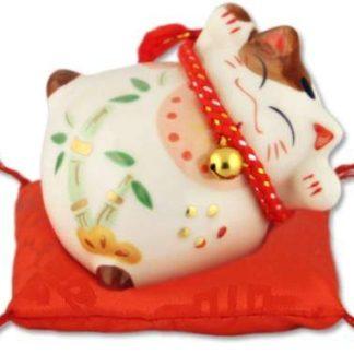 """Японский кот-копилка Манэки-нэко  """"Здоровье и Счастье!"""""""