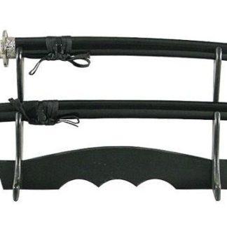 Набор самурайских мечей,2 шт. Ножны черные